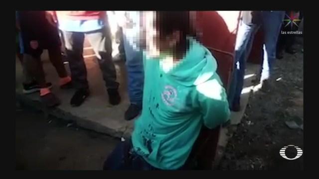 Foto: Video Linchan Feminicida Niña Chiapas 10 Enero 2020