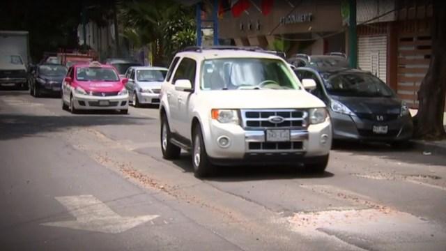 Foto: Los baches en la CDMX, un verdadero problema para automovilistas