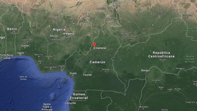 IMAGEN Granada mata a nueve niños en frontera entre Nigeria y Camerún (Google Maps)