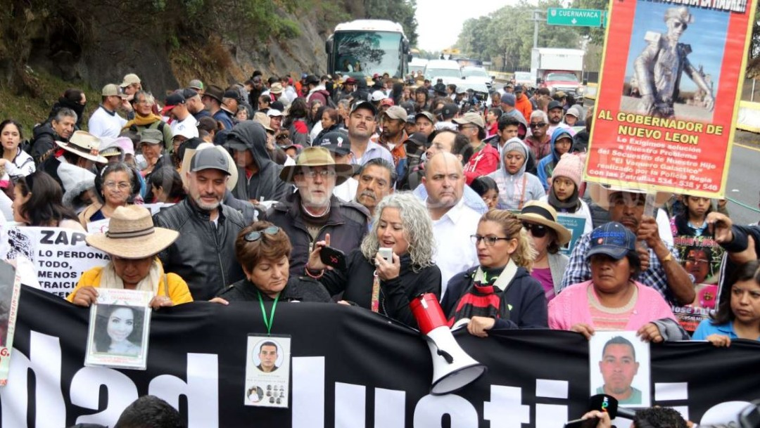 Foto: Adrián LeBarón pidió replicar la marcha en cada ciudad de México y Estados Unidos