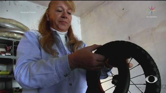 Foto: Mujer Sonora Dedicada Reparación Bicicletas 10 Enero 2020