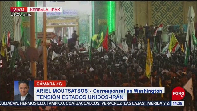 FOTO: milicias iranies amenazan con ataques contra estados unidos, 4 de enero del 2020