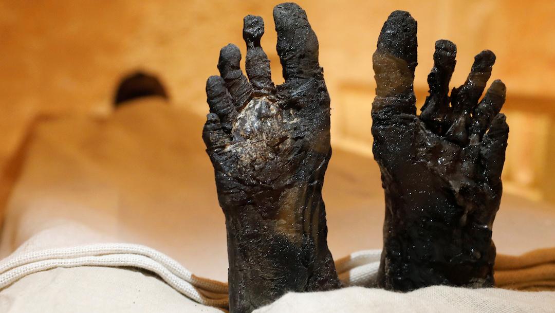 Científicos hacen hablar a una momia egipcia