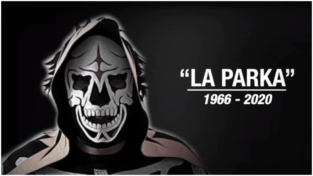 Imagen: Confirman la muerte del luchador La Parka, 11 de enero de 2020 (Foro TV)