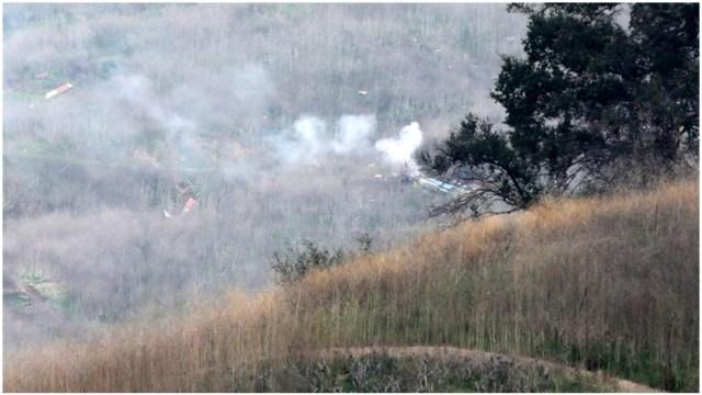 Foto: Nueve personas murieron en accidente de helicópteroe en California, 26 de enero de 2020 (EFE)