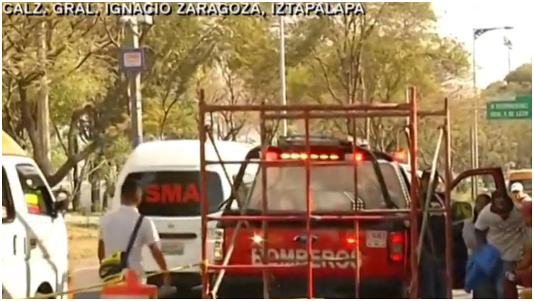 Foto: Pintor perdió la vida tras recibir descarga eléctrica en la CDMX, 25 de enero de 2020 (Foro TV)