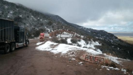 Foto: Nevadas en el norte y noreste de Sonora.