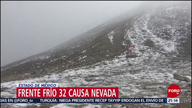Foto: Nevado De Toluca Restringen Entrada Caída Nieve 20 Enero 2020