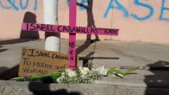 Foto: Colectivos protestan por feminicidios en Ciudad Juárez, 25 de enero de 2020 (contrapesociudadano.com)
