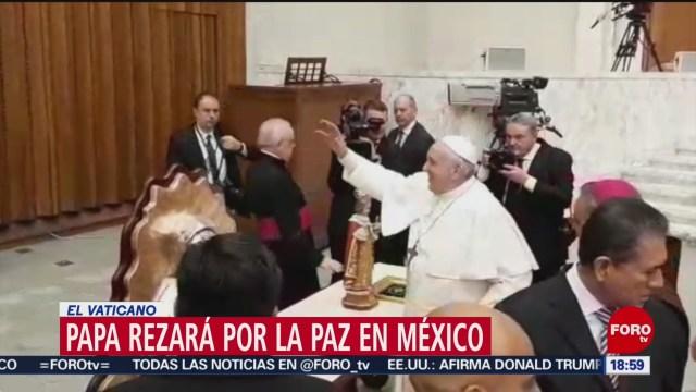 FOTO: papa francisco recibe a artesanos de taxco guerrero