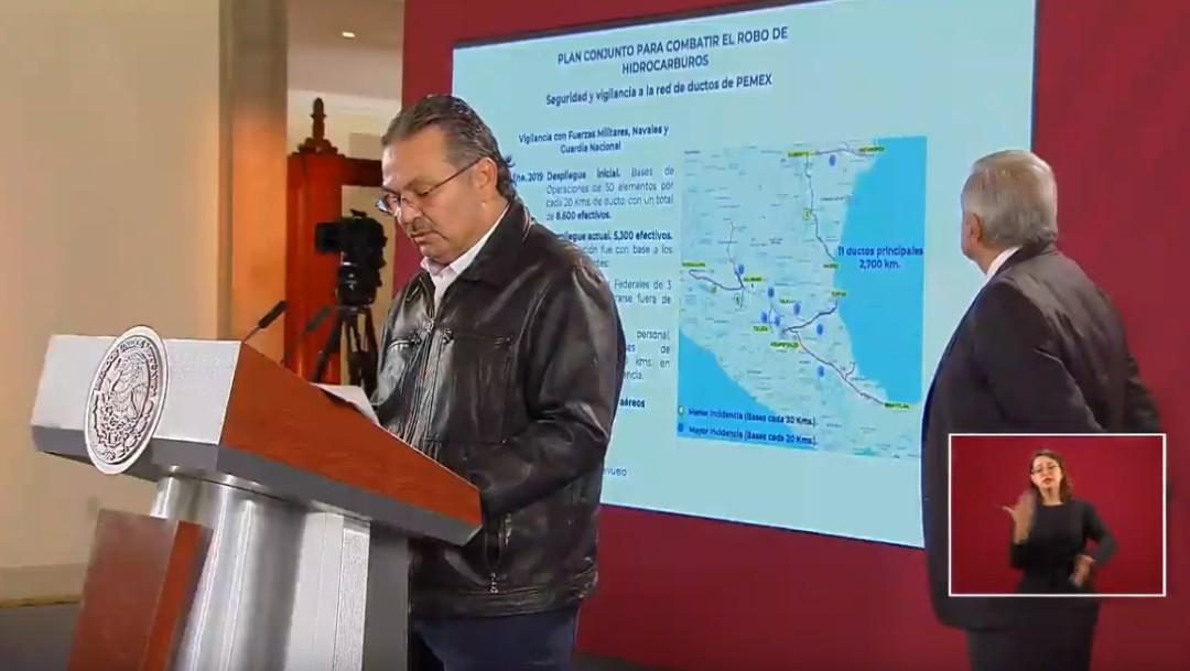 Foto: Pemex: Se ha logrado reducir en 91% en el robo de combustible