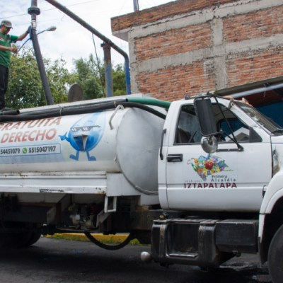 Obras de mantenimiento dejan sin agua a alcaldía Iztapalapa, CDMX