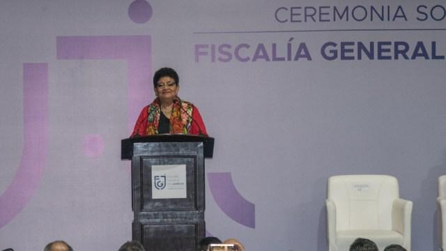Ernestina godoy, fiscal general de Justicia de la Ciudad de México