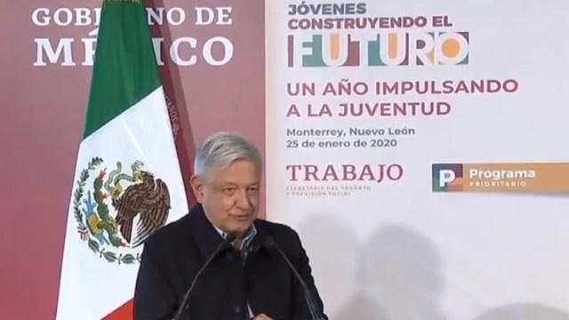 FOTO: Jóvenes Construyendo rinde frutos, pese a resistencias: López Obrador, el 25 de enero de 2020
