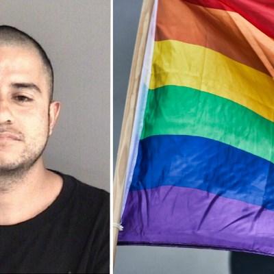 Hombre quema una bandera LGBT; lo condenan a 17 años de prisión