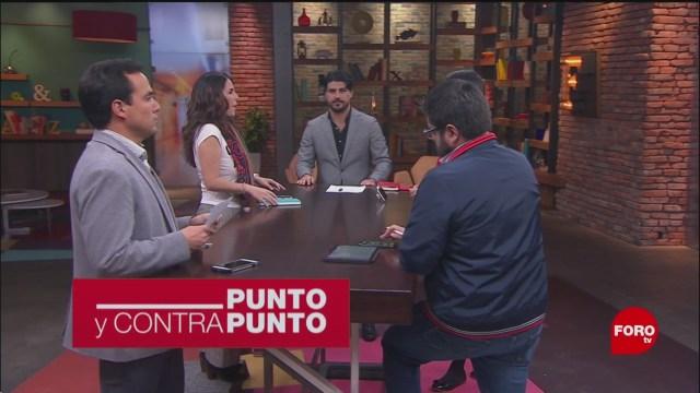 Foto: Punto Contrapunto Genaro Lozano Programa Completo 22 Enero 2020