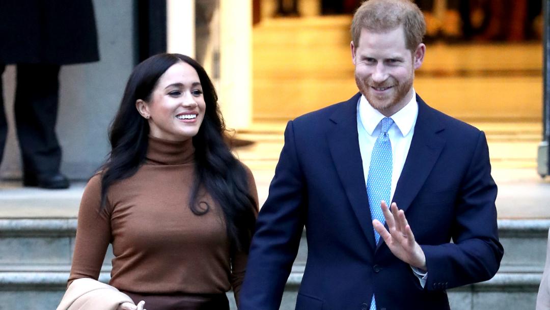 FOTO: Harry y Meghan Markle ya no serán miembros activos de la familia real (Getty Images)