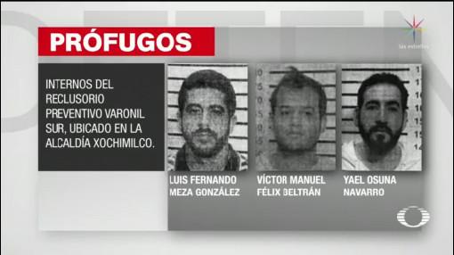 Foto: Reos Fugados Reclusorio Sur Nexos Chapo Guzmán 29 Enero 2020