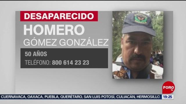Foto: Desaparición Homero Gómez González Protector Mariposa Monarca 15 Enero 2020