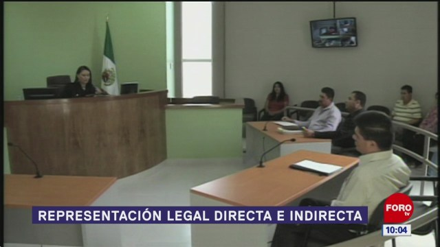 representacion legal directa e indirecta