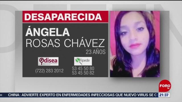 Foto: Policía Angela Rosas Cumple Una Semana Desaparecida 20 Enero 2020