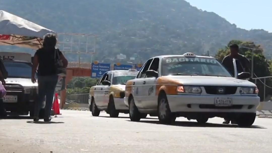 Foto: Ser taxista en Acapulco es un trabajo de alto riesgo