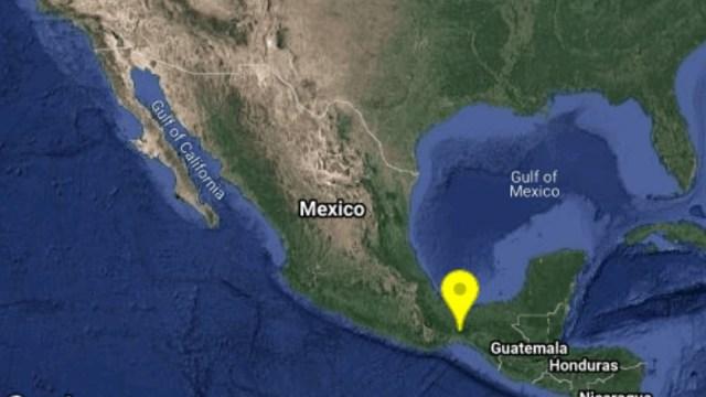 Sismo de magnitud 4.8 se registra en Matías Romero, Oaxaca