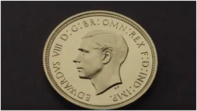 Foto: Subastan en más de un millón de dólares extraña moneda de Eduardo VIII, 18 de enero de 2020 (The Royal Mint)