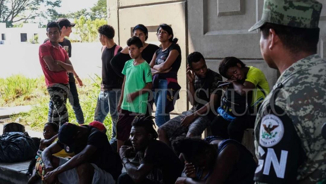 Foto: Muchos migrantes han desistido de continuar su camino a Estados Unidos, saben que los filtros de seguridad les impiden caminar por México y aseguran solicitarán su regularización migratoria