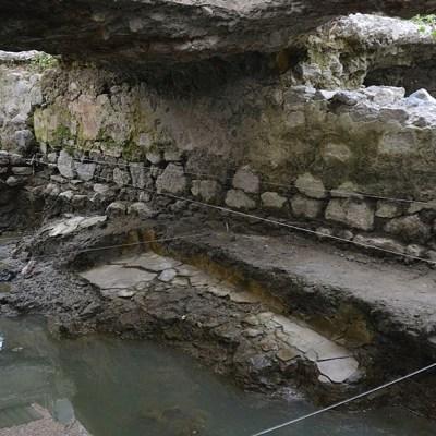 INAH revela hallazgo de temazcal prehispánico del siglo XIV en La Merced