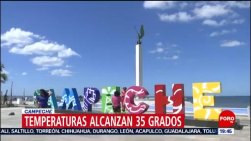 FOTO: 18 enero 2020, temperaturas de hasta 35 grados en campeche