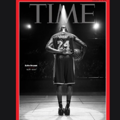 Foto: Time dedica su portada a Kobe Bryant