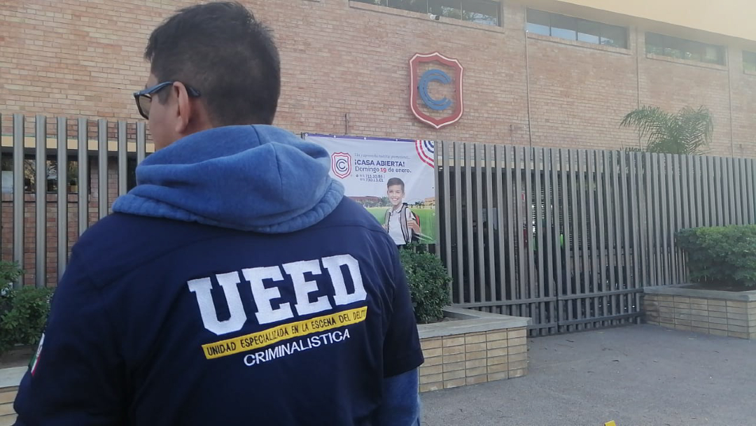 FOTO Videojuego habría influenciado a estudiante que mató a maestra y se suicidó en Colegio Cervantes de Torreón (Cuartoscuro/Luis Rivera)