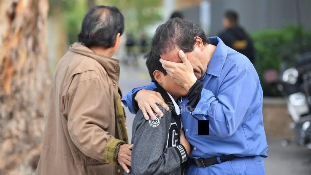 Foto: Dos muertos fue el saldo del tiroteo suscitado en el Colegio Cervantes a manos de un menor de edad, quien entró armado a la institución en Torreón, Coahuila, el 10 de enero de 2019 (Foto: cortesía El Siglo de Torreón/Cuartoscuro.com)