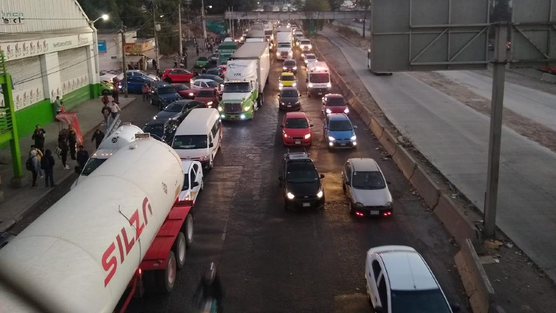 FOTO: Transportistas bloquean accesos a la CDMX. el 13 de enero de 2020