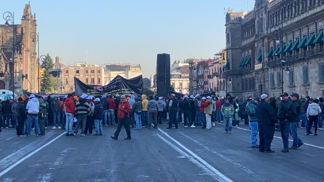 FOTO: Transportistas dialogan y retiran bloqueos en la CDMX, el 13 de enero de 2020