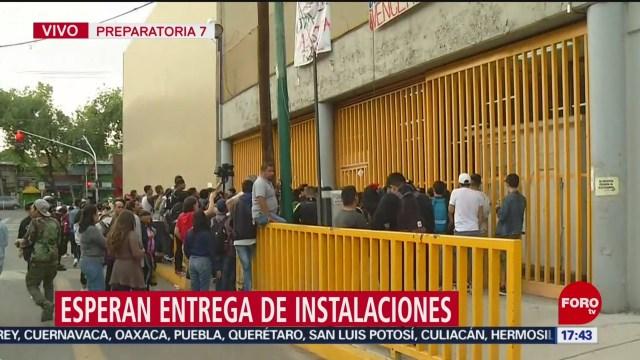 FOTO: tras meses de paro entregaran instalaciones de la prepa