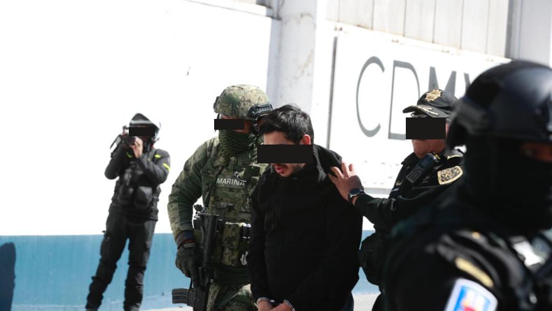 FOTO Trasladan a 'El Lunares', líder de 'La Unión de Tepito', a la SEIDO (S.Servín S.)
