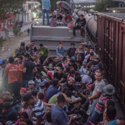 Foto: Atienden a grupos de 20 migrantes centroamericanos en frontera sur, el 18 de enero de 2020