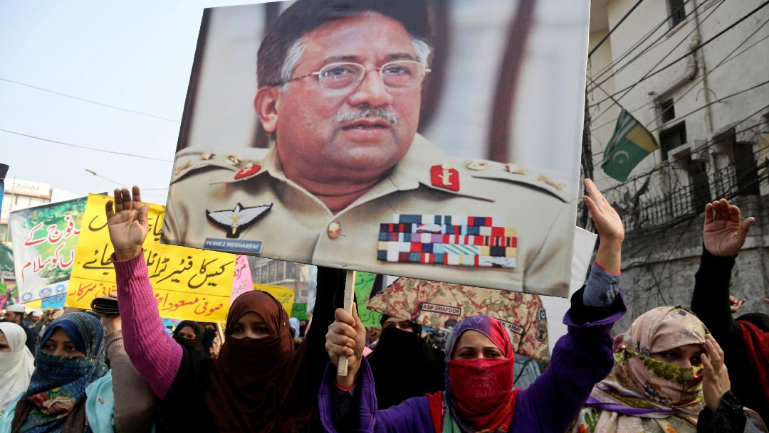 Foto: Tribunal paquistaní anula sentencia a muerte del exdictador Musharraf