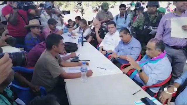 Foto: Unicef Rechaza Policía Infantil Chilapa Guerrero 24 Enero 2020