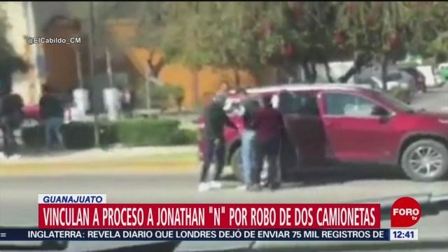 vinculan a proceso a hombre que robo camionetas con violencia en san miguel de allende