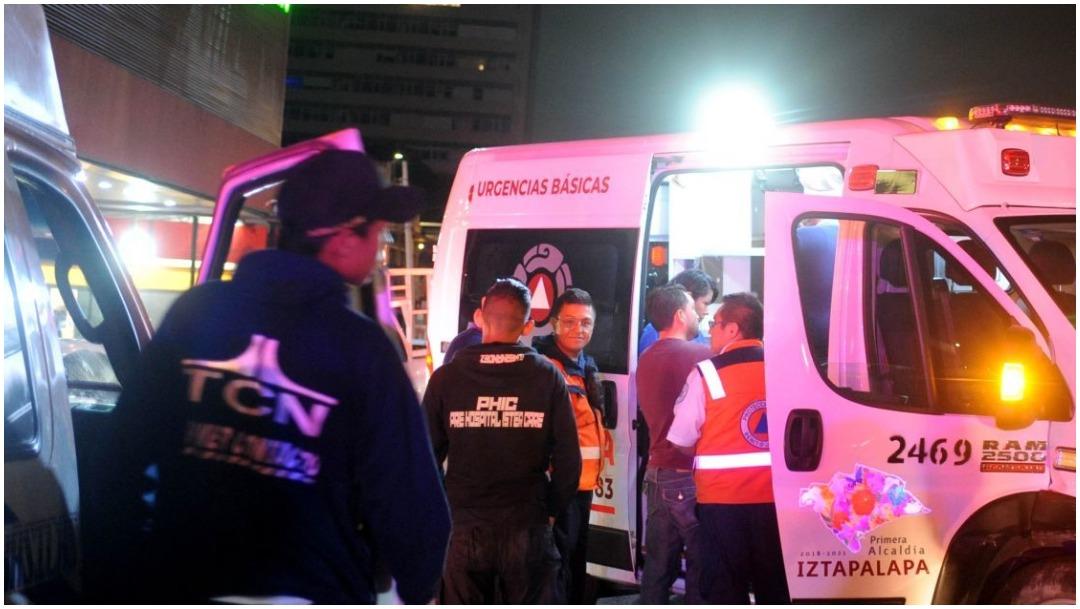 IMAGEN: Dos mujeres resultaron heridas tras accidente en Tlalpan, 22 de febrero de 2020 (LUIS CARBAYO/CUARTOSCURO.COM)