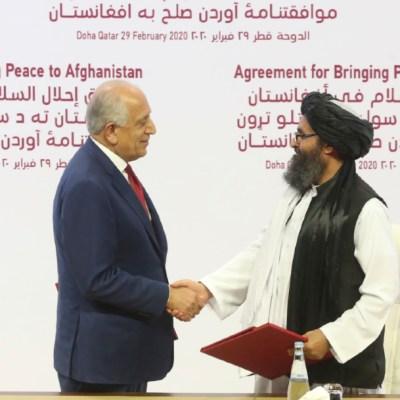 Estados Unidos y los talibanes firman histórico acuerdo de paz en Doha