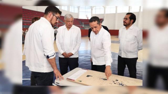 AMLO atestigua rehabilitación urbana de Solidaridad, Quintana Roo 2, febrero 2020