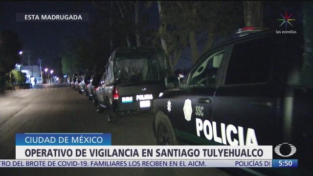 aplican operativo en santiago tulyehualco lugar donde fue localizado el cuerpo de fatima