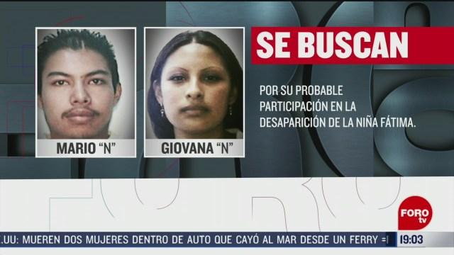 Foto: Asesinos Fátima Podrían Alcanzar 140 Años Prisión 19 Febrero 2020