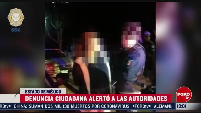 Foto: Video Detención Feminicidas Fátima Edomex 20 Febrero 2020