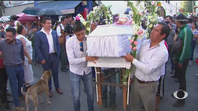 Foto: Último Adiós Pequeña Fátima Hoy Funeral 18 Febrero 2020