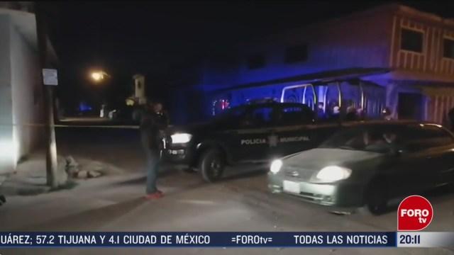 Foto: Celaya Guanajuato Ataque Armado 4 Muertos 21 Febrero 2020